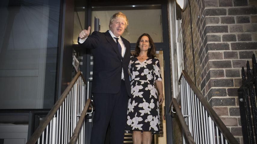Boris Johnson und Marina Wheeler, 2016