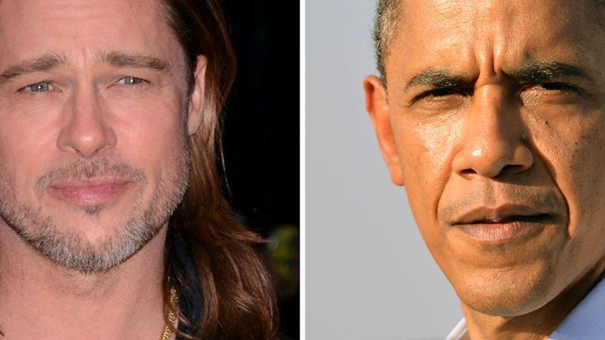 Soso! Brad Pitt und Barack Obama sind verwandt