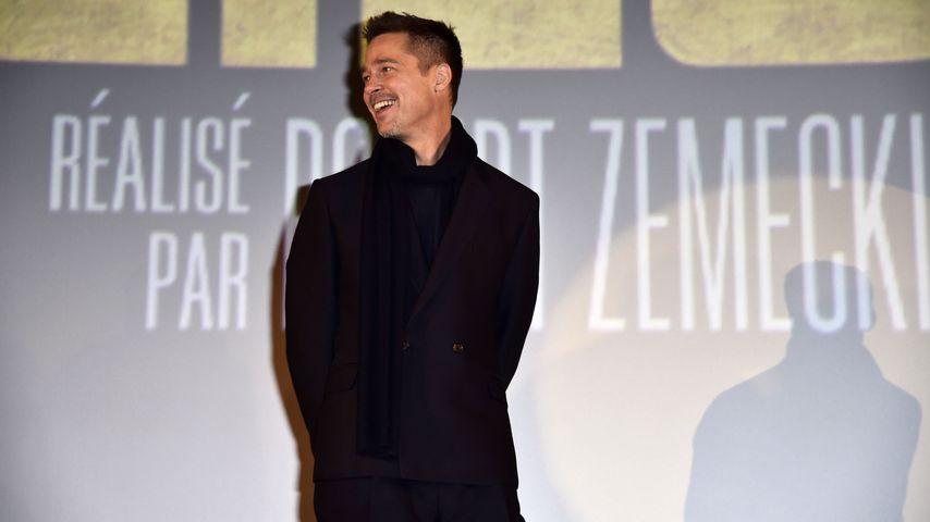 """Brad Pitt bei der """"Allied""""-Premiere in Paris 2016"""