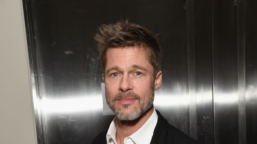 Brad Pitt bei einer Benefizveranstaltung