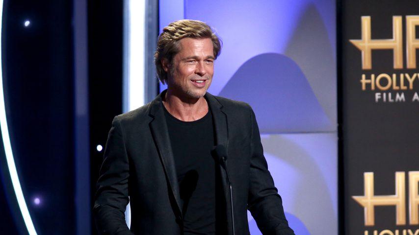 Hollywoodstar Brad Pitt bei den Hollywood Film Awards, 2018