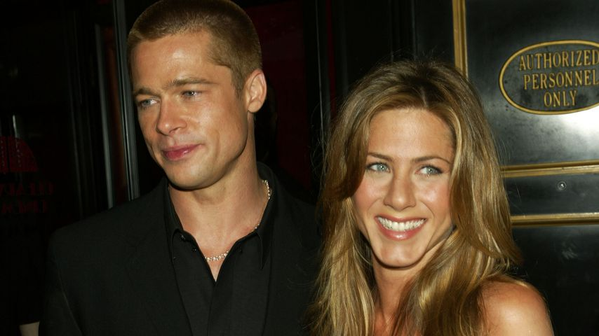 Brad Pitt und Jennifer Aniston, 2004