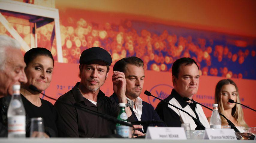 Brad Pitt, Leonardo DiCaprio und Quentin Tarantino