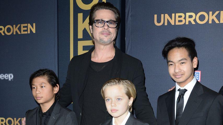 "Statt ""Papa"": Brad Pitts Kids sollen ihn beim Namen nennen"