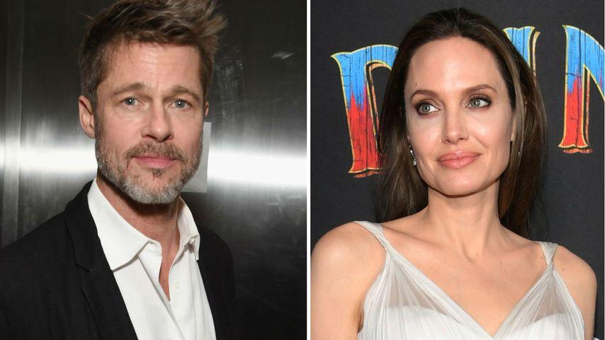 Kein Drama mehr: Brad Pitt & Angelina nähern sich wieder an