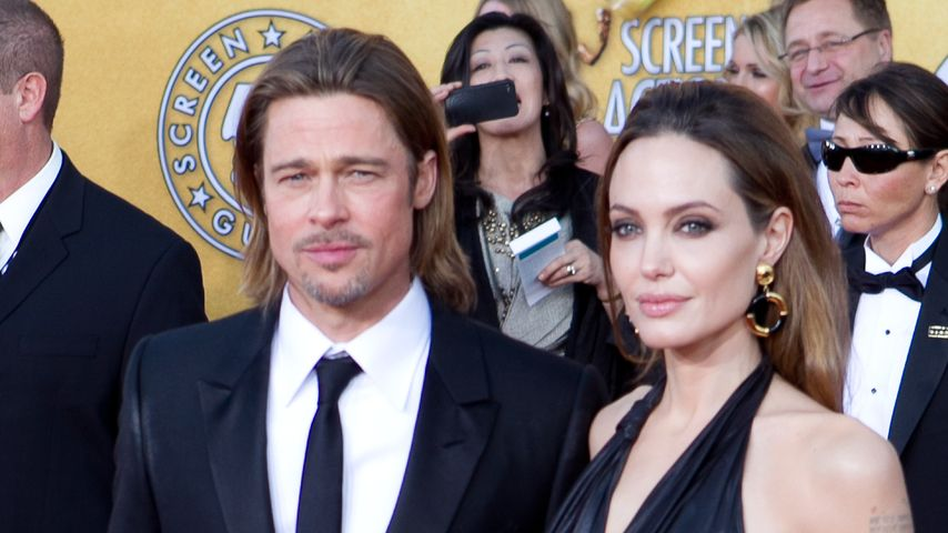 Brad Pitt und Angelina Jolie bei den Screen Actors Guild Awards 2012