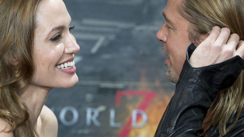 Mega-Geschenk: Brad Pitt bekommt eigene Herz-Insel