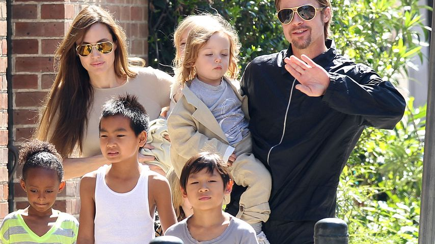 Brad & Angie: Einblick in ihr süßes Familien-Glück