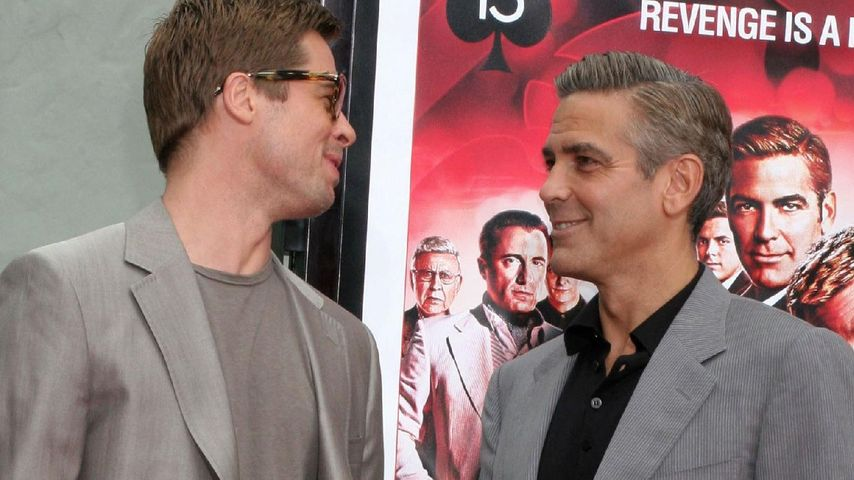George Clooney: So gratulierte er Brad & Angelina