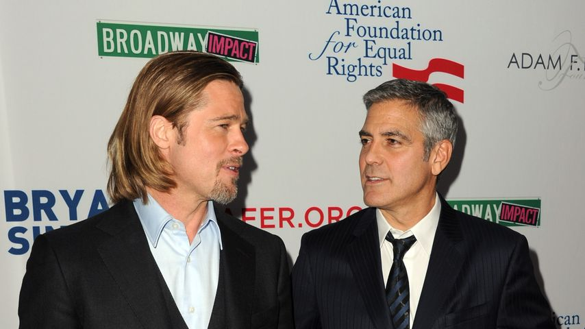 Brad Pitt und George Clooney