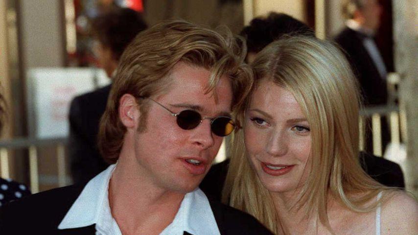 Brad Pitt und Gwyneth Paltrow bei der Oscar Verleihung 1996