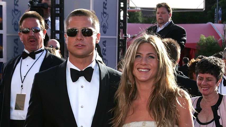 Brad Pitt und Jennifer Aniston, 2004