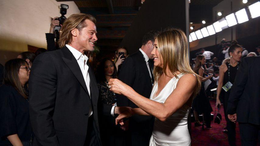 Sind Brad Pitt und Ex Jennifer Aniston echt wieder verliebt?