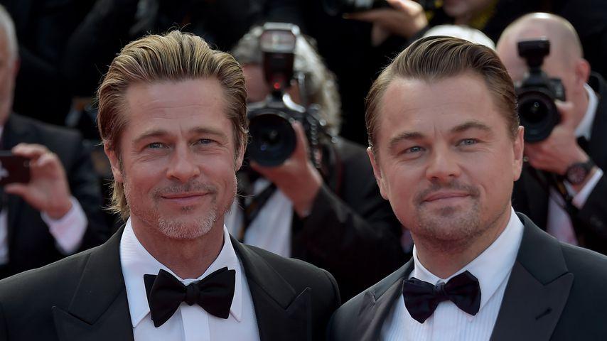 Brad Pitt und Leonardo DiCaprio, 2019 in Cannes