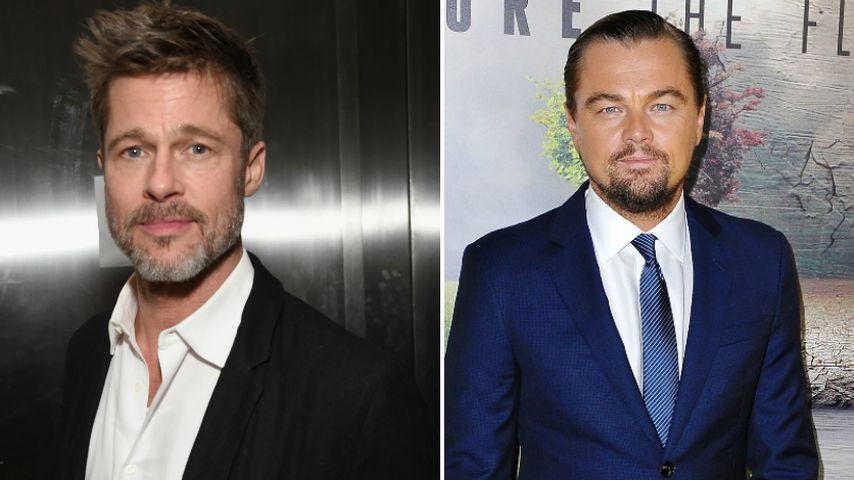 Neuer Tarantino: Erster gemeinsamer Film von Brad & Leo!