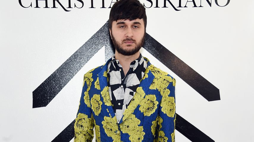 Brad Walsh während der New York Fashion Week