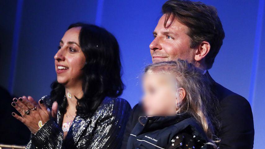 Bradley Cooper mit seiner Tochter Lea de Seine Shayk Cooper im Oktober 2019