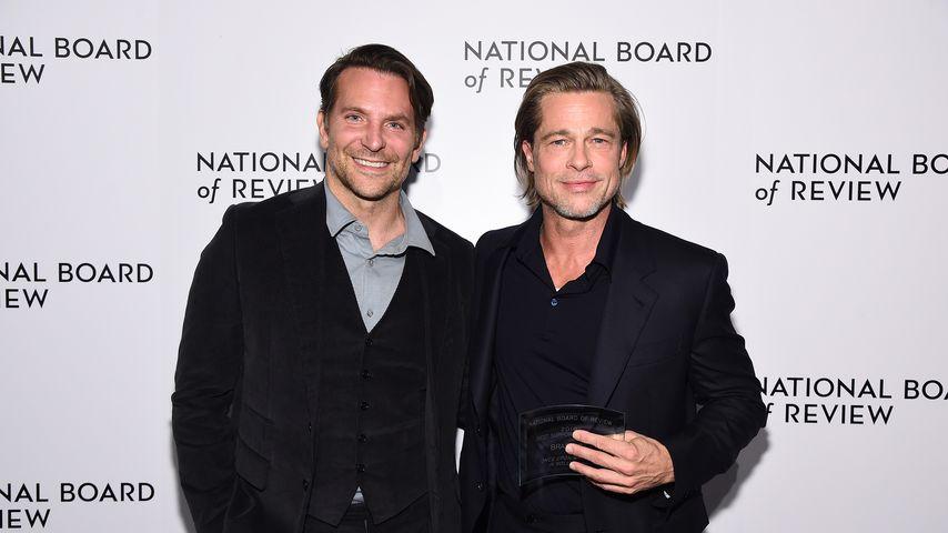 Bradley Cooper und Brad Pitt im Januar 2020
