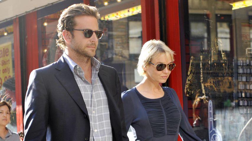 Bradley Cooper und Renée Zellweger in New York, Juni 2010