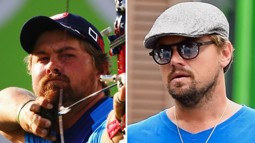 Verrückt! Dieser Olympia-Held sieht aus wie Leo DiCaprio