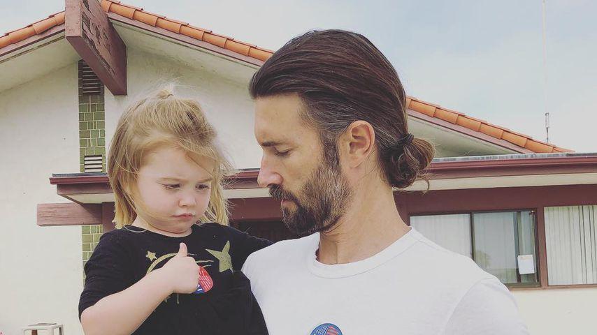Brandon Jenner mit seiner Tochter Eva, Juni 2018