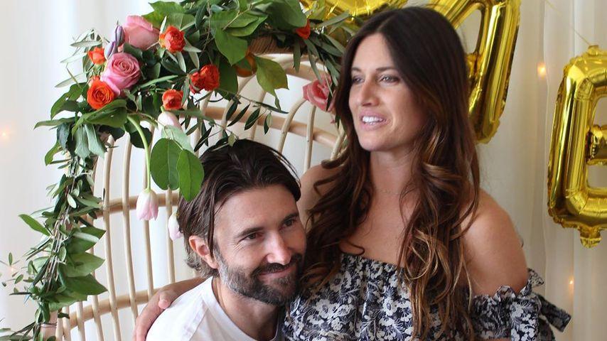 Brandon Jenner mit seiner Verlobten Cayley