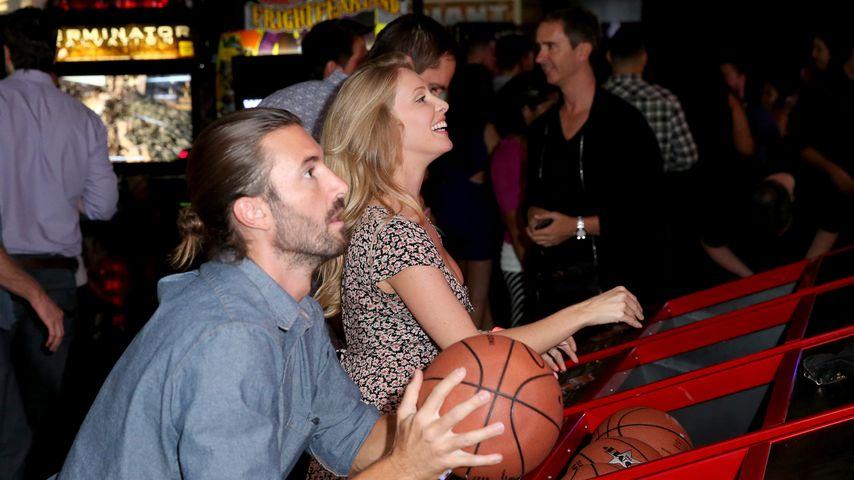 Brandon Jenner und seine Noch-Ehefrau Leah