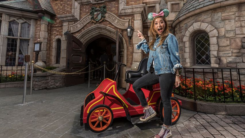 An B-Day: Macaulay Culkin und Brenda Song im Disneyland!