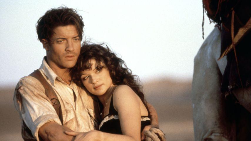 """Brendan Fraser und Rachel Weisz in """"Die Mumie"""", 1999"""