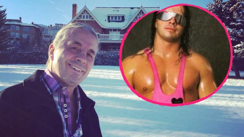 """Bret """"The Hitman"""" Hart: Wrestling-Legende an Krebs erkrankt"""