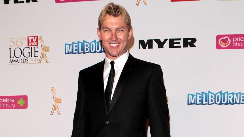 Brett Lee in Melbourne, April 2014