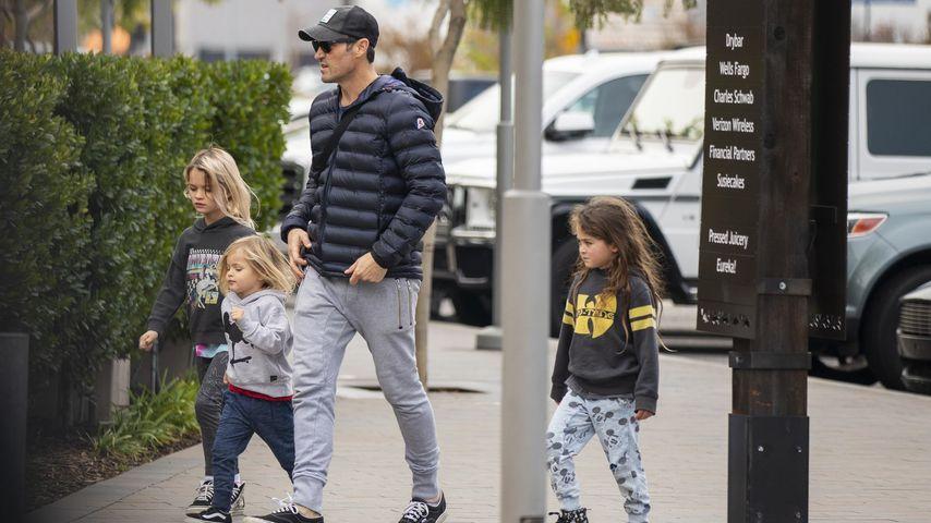 Brian Austin Green mit Kindern in Los Angeles