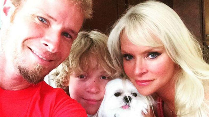 Großes Glück: Backstreet Boy-Brian zeigt seine Familie