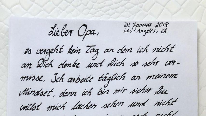 Bewegend: Bastian Yotta schreibt Brief an seinen toten Opa!