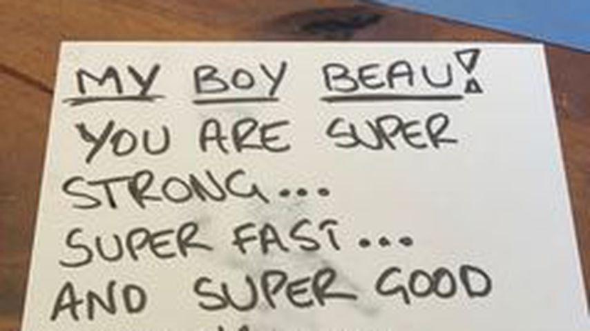 Brief von Robbie Williams zum Geburtstag seines Sohnes Beau