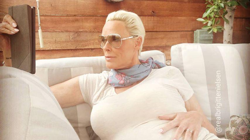 Echo auf Hater? Brigitte Nielsen postet neues Schwanger-Pic