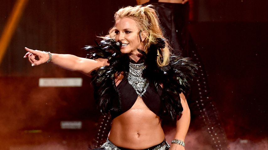 Britney Spears beim iHeartRadio-Festival in Las Vegas 2016