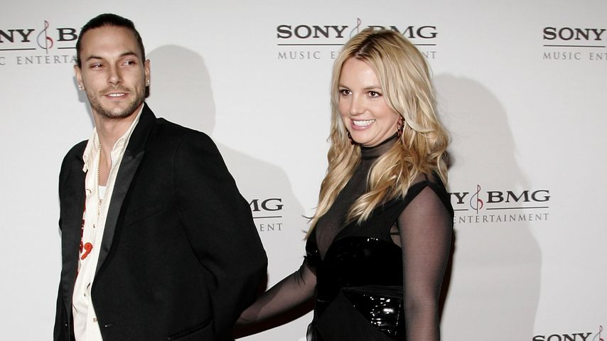 Kevin Federline und Britney Spears 2006