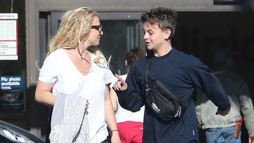 Britney Spears mit ihrem Sohn Sean