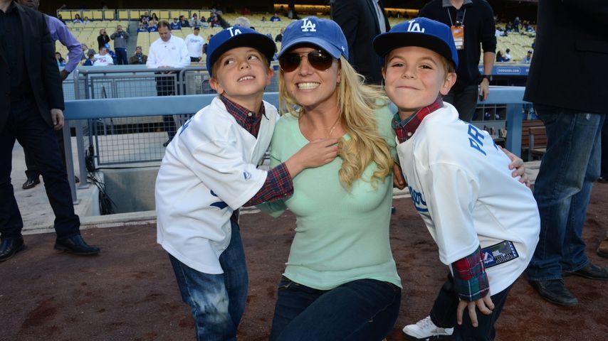 Coole Kids: So groß sind Britney Spears' Söhne schon!