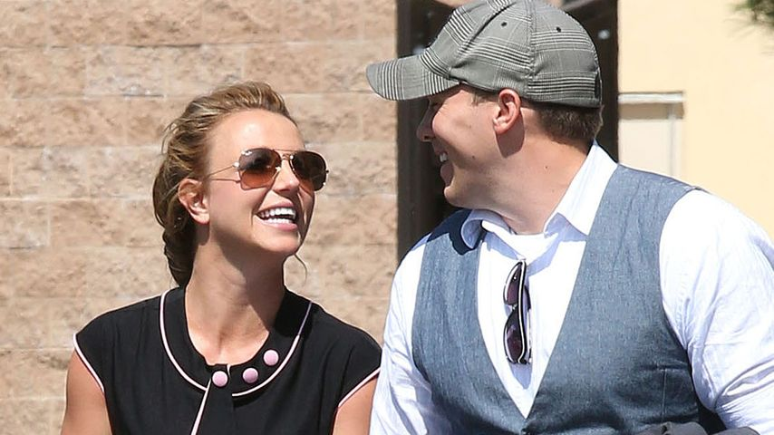 Endlich mega-glücklich! Britney Spears & ihr David