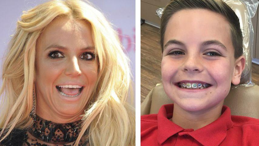 Britneys Sohn Preston: Strahlemann mit neuer Zahnspange!