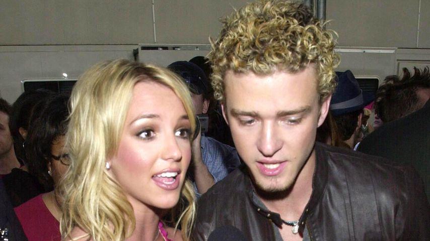 Britney Spears und Justin Timberlake, 2002