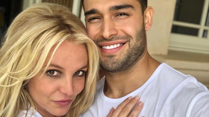 Britney Spears und Sam Asghari im Mai 2019