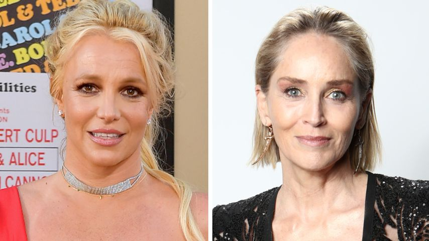 Britney Spears bat Sharon Stone in einem Brief um Hilfe