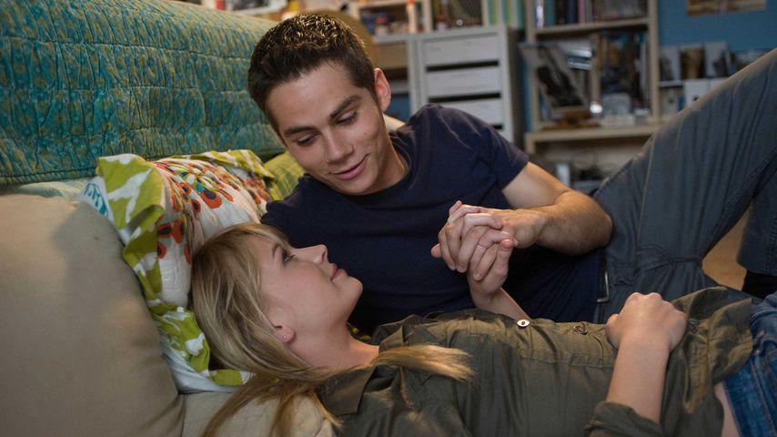 """Britt Robertson und Dylan O'Brien im Film """"The First Time"""", 2012"""