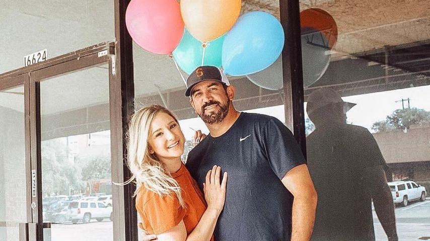 Brittani Boren Leach und ihr Mann Jeff im Oktober 2018