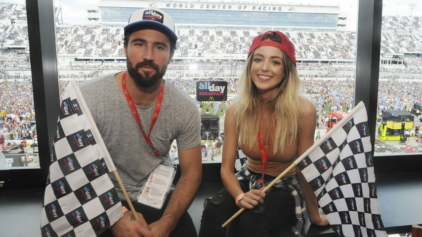 Brody Jenner und Kaitlynn Carter beim Daytona International Speedway, 2016