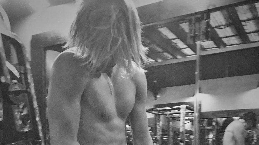 Ein richtiger Mann: Brooklyn Beckham wird zum Muskelprotz!