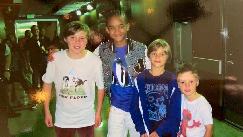 Mini-Beckhams: Romeo postet zuckersüßes Throwback-Pic